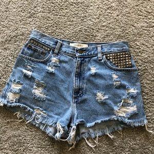 Pants - Custom vintage high waist shorts